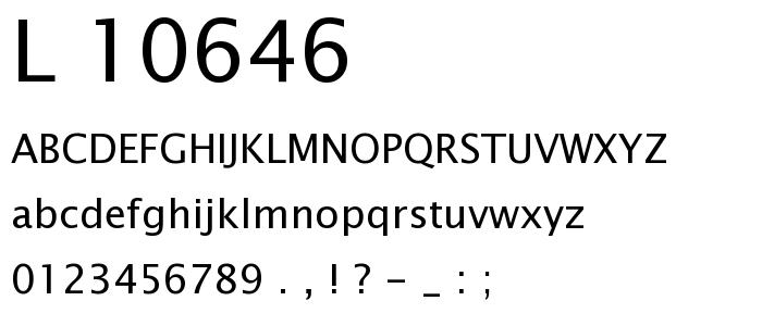 L 10646 font