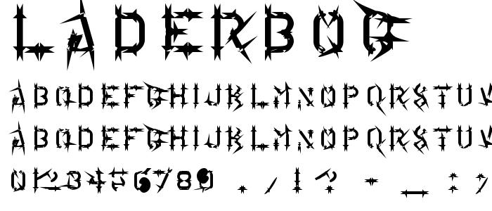Laderbog font