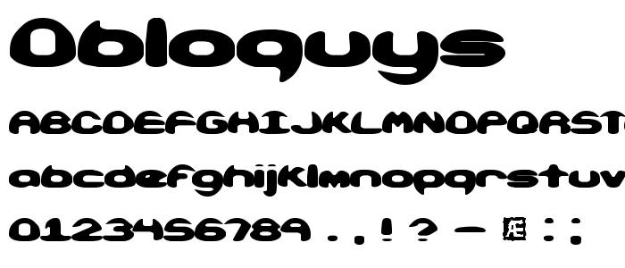 obloquys.ttf font
