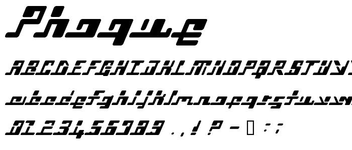 Phoque font