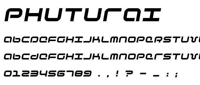 Phuturai font