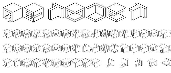 Qbicle1 font