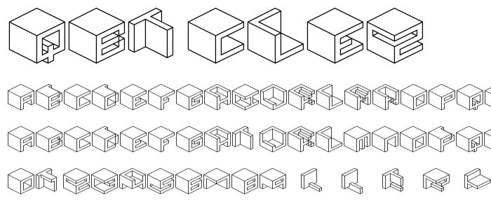 Qbicle2 font