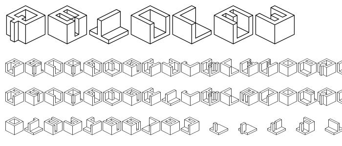 qbicle3.ttf font
