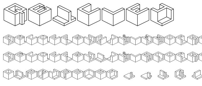Qbicle4 font