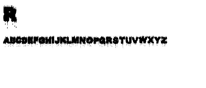 Raptorkill font