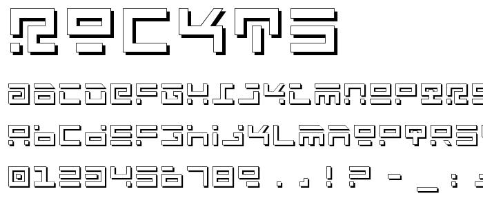 Rockts font