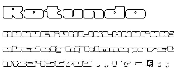 Rotundo font