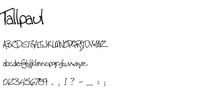 tallpaul.ttf font