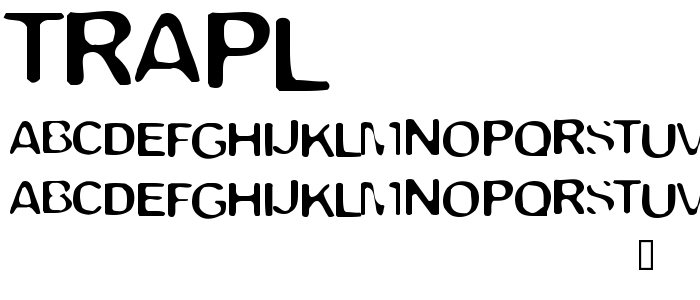Trapl font