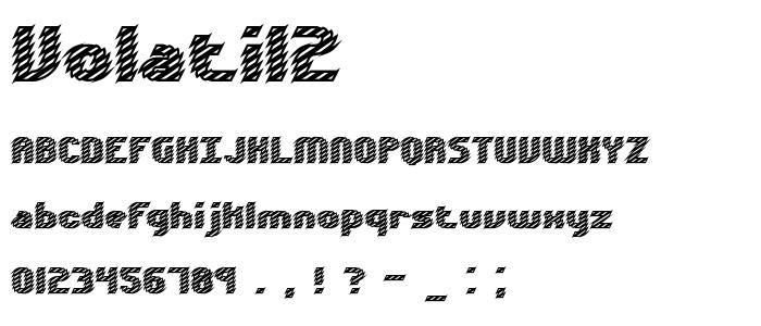 Volatil2 font