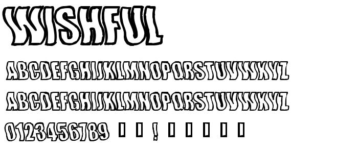 Wishful font